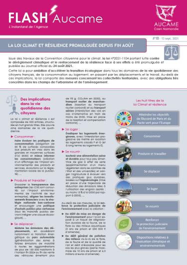 La loi Climat et résilience promulguée depuis fin août